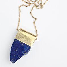 Polished Lapis Lazuli Necklace