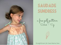 Saudade Sundress: FREE pattern release and GIVE-AWAY