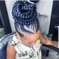 Criss-Cross Goddess Braids - 70 Best Black Braided Hairstyles That Turn Heads in 2019 - The Trending Hairstyle Black Hair Updo Hairstyles, Braids Hairstyles Pictures, Braided Ponytail Hairstyles, Braided Hairstyles For Black Women, African Braids Hairstyles, Weave Hairstyles, Feed In Braids Ponytail, Hairstyles Games, 5 Braid