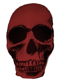 The Rise And Fall Red Skull Pillow Inkedshop Inked Tattoo