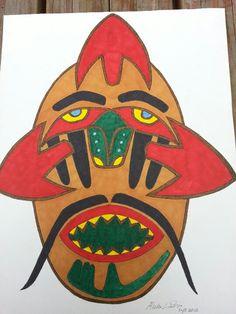 Dance Mask by Richard Lawton