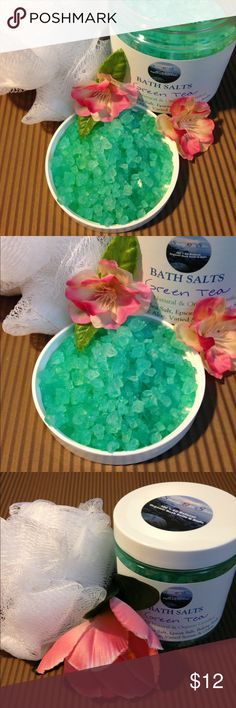 Selling this All Natural Bath Salts - Green Tea on Poshmark! My username is: sossoap. #shopmycloset #poshmark #fashion #shopping #style #forsale #SOSSoap #Other