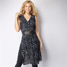 The Zebra-Print Button Down Tunic is the perfect top to show your wild side. This versatile long, flowy piece can be worn open, closed or cinched at the waist. Pair it with the 2-Pack of Fashion Belts for a chic cinched-waist look. Also in Woman's sizes. #Avon #Fashion #AvonRep