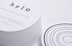 Hylo — Identité — Papeterie 3 - Design, studio, atelier, graphique Happy Soup, Rennes, Bretagne, France
