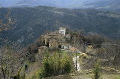 Criminal past: Martese, which sits 3,270 feet above sea level, was once famed as a smuggling stronghold