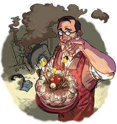 cake for you, kamerad by Silsol.deviantart.com on @DeviantArt