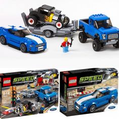 What do you guys think about these sets? -My birthday is coming up in June and I am definitely going to get these for my birthday! I've always loved Mustangs and the Raptor in real life and can't wait to have the Lego versions! That hot rod is an added bonus plus 5 minifigs total. 849 pieces combined both sets. I wish it was June already! . #birthday #love #lovethis #lego #legos #ford #mustang #raptor #ModelAHotRod #minifigs #legoset #legostagram #legospeedchampions #speedchampions…