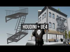 A Real-Time Journey into HoudiniMatt Workman City Block, Fire Escape, New City, Cinematography, Unity, Journey, Cinema, The Journey