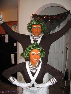 Oompa Loompas Costumes   Halloween Costume Contest Via @costumeworks