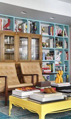 Encaixar móveis um no outro valoriza e otimiza espaços - Jornal O Globo