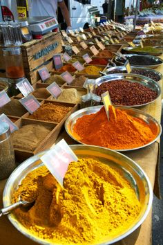 Spice market in Arles, Provence, France | by Guglielmo Gardenghi with Pin-It-Button on 500px