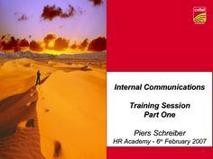internal-communications-part-1 by Estragon via Slideshare