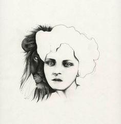 niishe – the animal in me Female, Illustration, Animals, Design, Art, Art Background, Animales, Animaux, Kunst