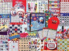 NEW White Mountain Puzzles Bingo Nut Jigsaw Puzzle (300-Piece) #WhiteMountain