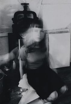 Johan van der Keuken- Untitled (girl Apol) circa 1957