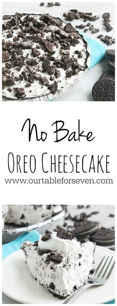 No Bake Oreo Cheesec