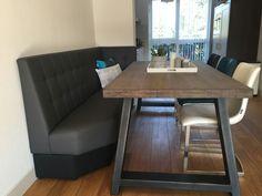 Eetkamer banken op maat wandbanken eettafel eetkamer stoelen