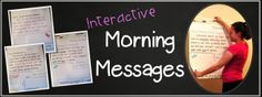 Interactive Morning Messages - stop wasting time on messages often ignored by distracted students