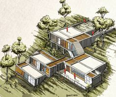 Model architecture drawing skill Model architecture drawing skill See it - House Architecture Styles, Architecture Drawings, Interior Architecture, Mendoza, Exterior Design, Facade, House Design, Building, Architecture Models