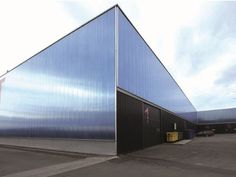 Modular polycarbonate system for ventilated facade arcoPlus®626 Ventilated Facade System by Dott. Gallina