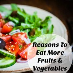 Reasons To Eat More Fruits & Vegetables #addcolor #ad
