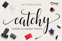 Catchy Script  by ximent studio on @creativemarket Check now!!