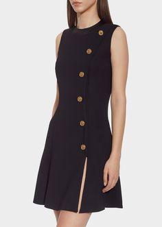 a4d2d549f2a7 Medusa Button Mini Dress for Women