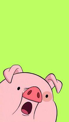 Imagen de gravity falls, pig, and waddles