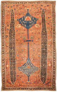 Persian Serapi rug, Fred Moheban Gallery