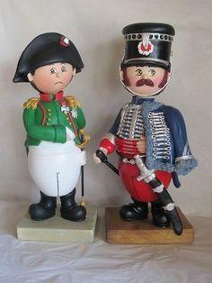 Napoléon et hussard