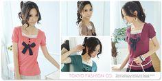 """Tokyo Fashion Lace-Trim """"Ribbon"""" Pintuck Top"""