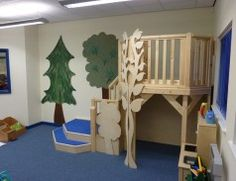 Classroom Loft - Bespoke Learning Spaces, Learning Centers, Classroom Themes, Classroom Organization, Classroom Seating Arrangements, Indoor Play Places, Library Furniture, Furniture Ideas, Jungle Room