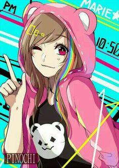 Manga Anime, Manga Art, Anime Art, Neko, Kawaii Girl, Chibi, People Illustrations, Geek Stuff, All Things Cute