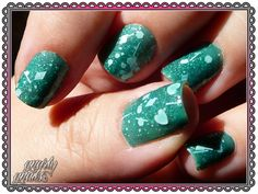 Teal Tuesdays - Jelly Sandwich  http://gnarlygnails.blogspot.com/