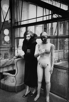 cartier bresson. With mannequin