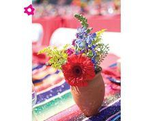 Resultado de imagen para centros de mesa para boda mexicana
