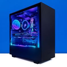 PCCG Void 64 Gaming System available to buy online from PC Case Gear – Australia's Premier Online PC Store. Computer Station, Computer Setup, Computer Case, Gaming Room Setup, Pc Setup, Custom Gaming Computer, Gaming Pc Build, Pc Cases, High End Gaming Pc