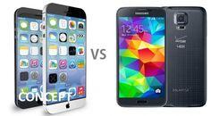 Rumored iPhone 6 VS Samsung Galaxy S5: Comparison of specs