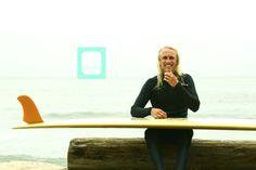 Kameron Brown rides Canvas Surfboards