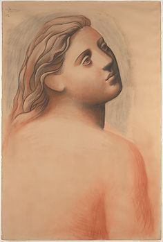 Head of a Woman Pablo Picasso 1922