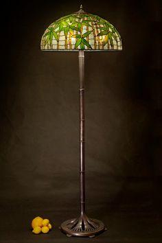 Standing Lamp, Floor Lamp, Stained Glass Lamp, Floor Lamp Base ...