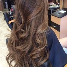 light brown hair with subtle blonde highlights Hairstyles Haircuts, Pretty Hairstyles, Formal Hairstyles, Brunette Hairstyles, Long Haircuts, Hairstyle Men, Funky Hairstyles, Wedding Hairstyles, Soft Curl Hairstyles