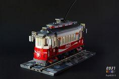Electric tram car from Porto, Portugal