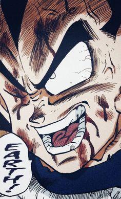 this illustration is pretty cool :) >>> Dragon Ball│Dragon Ball - - # vegeta Manga Anime, Anime In, Otaku Anime, Akira, Dragon Ball Z, Manga Dragon, D Mark, Fan Art, Anime Comics