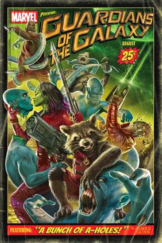 Guardians of the Galaxy Vintage Poster