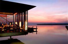Mole West::Neusiedl am See Wine Enthusiast Magazine, Vacation Destinations, Marina Bay Sands, Explore, Adventure, Building, Austria, Prague, Restaurants