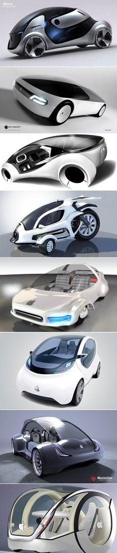 Apple iCar concepts