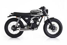 ϟ Hell Kustom ϟ: Honda CB100 1976 By Deus Ex Machina