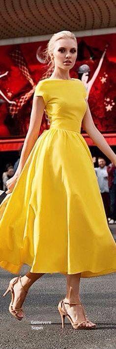Vestido amarillo 4