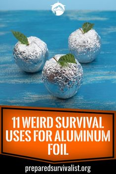 How many survival uses for aluninum foil do you know? There are a ton out there. Aluminum foil is much more that you standard kitchen item and should earn a place in your bug out bag. Keep reading to learn 11 survival uses for this weird hero of emergency Survival Supplies, Survival Food, Outdoor Survival, Survival Prepping, Emergency Preparedness, Survival Skills, Survival Hacks, Survival Items, Survival Weapons